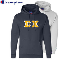 Sigma Chi 2 Champion Hoodies Pack - Champion S700 - TWILL