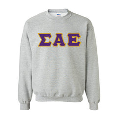 Sigma Alpha Epsilon Fraternity Standards Crewneck Sweatshirt - Gildan 18000 - Twill