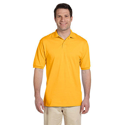 Fraternity Jersey Knit Polo Shirt - Jerzees 437 - EMB
