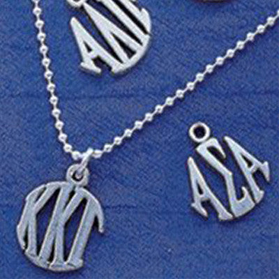 Sorority Circle Drop Charm - Campus ID cid621