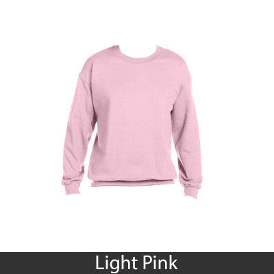 Sorority Cat Design Printed Crewneck Sweatshirt - Gildan 18000 - CAD