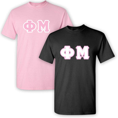 Phi Mu Sorority 2 T-Shirt Pack - G500 - TWILL