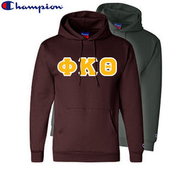 Phi Kappa Theta 2 Champion Hoodies Pack - Champion S700 - TWILL