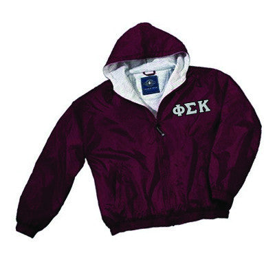 Fraternity Fleece Lined Full Zip Jacket w/ Hood - Charles River 9921 - TWILL