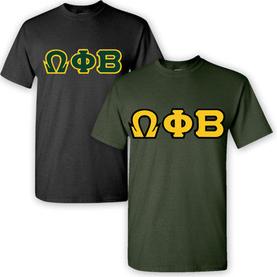 Omega Phi Beta Sorority 2 T-Shirt Pack - G500 - TWILL