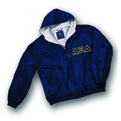 Sorority Fleece Lined Full Zip Jacket w/ Hood - Charles River 9921 - TWILL