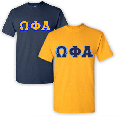 Omega Phi Alpha Sorority 2 T-Shirt Pack - G500 - TWILL