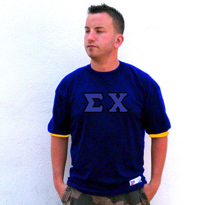 Sigma Chi Fraternity Jersey - Eagle T1239 - TWILL
