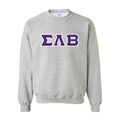 Sigma Lambda Beta Fraternity Standards Crewneck Sweatshirt - Gildan 18000 - Twill
