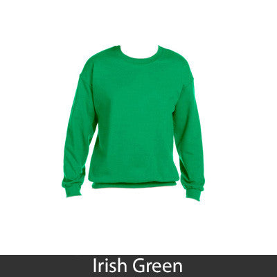 Alpha Sigma Tau Sorority 8oz Crewneck Sweatshirt - Gildan 18000 - TWILL