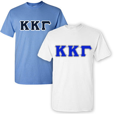 Kappa Kappa Gamma Sorority 2 T-Shirt Pack - G500 - TWILL
