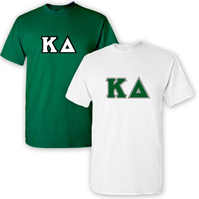 Kappa Delta Sorority 2 T-Shirt Pack - G500 - TWILL