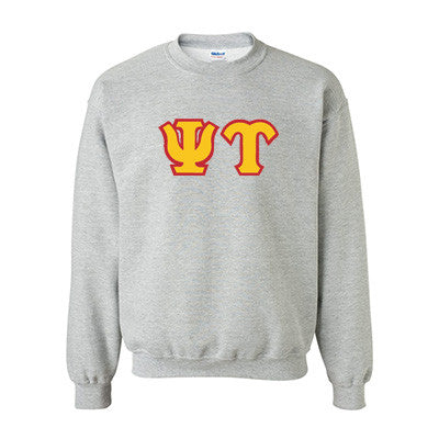 Psi Upsilon Fraternity Standards Crewneck Sweatshirt - Gildan 18000 - Twill