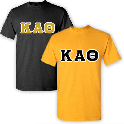 Kappa Alpha Theta Sorority 2 T-Shirt Pack - G500 - TWILL