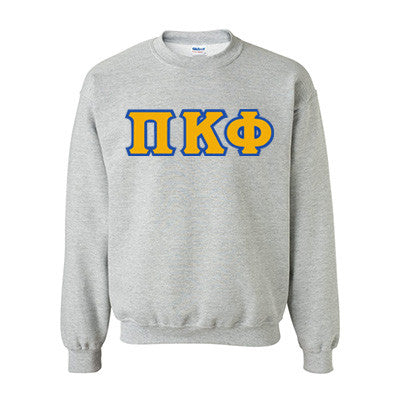Pi Kappa Phi Fraternity Standards Crewneck Sweatshirt - Gildan 18000 - Twill