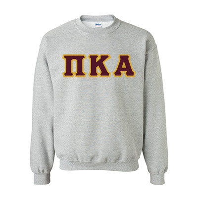 459b0707 ... Pi Kappa Alpha Fraternity Standards Crewneck Sweatshirt - Gildan 18000  - Twill