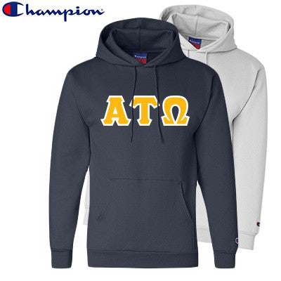 Alpha Tau Omega 2 Champion Hoodies Pack - Champion S700 - TWILL