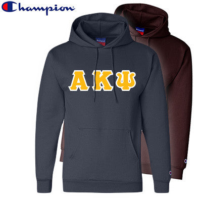34f5b99294f8 Alpha Kappa Psi 2 Champion Hoodies Pack - Champion S700 - TWILL