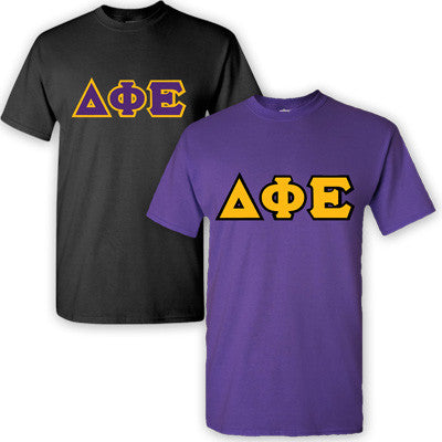 Delta Phi Epsilon Sorority 2 T-Shirt Pack - G500 - TWILL