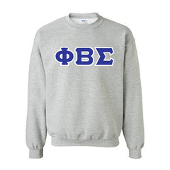 Phi Beta Sigma Fraternity Standards Crewneck Sweatshirt - Gildan 18000 - Twill