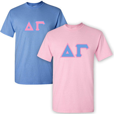 Delta Gamma Sorority 2 T-Shirt Pack - G500 - TWILL