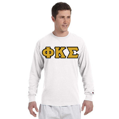 Phi Kappa Sigma Champion Long-Sleeve Tee - Champion CC8C - TWILL