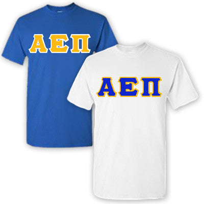 Alpha Epsilon Pi Fraternity 2 T-Shirt Pack - Gildan 5000 - TWILL
