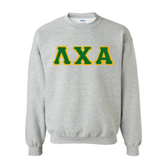 Lambda Chi Alpha Fraternity Standards Crewneck Sweatshirt - Gildan 18000 - Twill