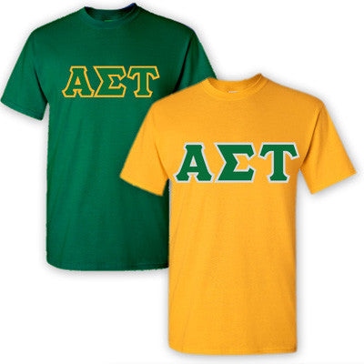 Alpha Sigma Tau Sorority 2 T-Shirt Pack - G500 - TWILL