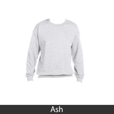 Alpha Phi Sorority 8oz Crewneck Sweatshirt - Gildan 18000 - TWILL