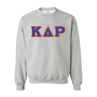 Kappa Delta Rho Fraternity Standards Crewneck Sweatshirt - Gildan 18000 - Twill