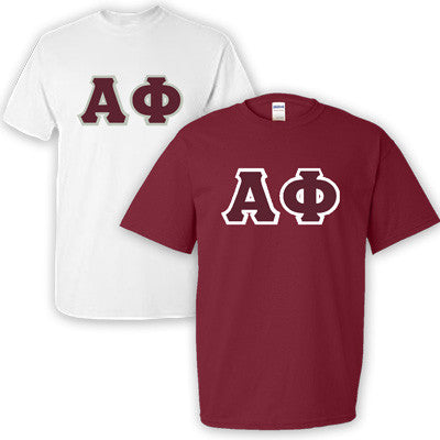 Alpha Phi Sorority 2 T-Shirt Pack - G500 - TWILL