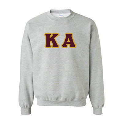 Kappa Alpha Fraternity Standards Crewneck Sweatshirt - Gildan 18000 - Twill