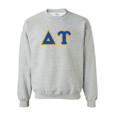 Delta Upsilon Fraternity Standards Crewneck Sweatshirt - Gildan 18000 - Twill
