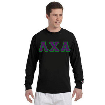 Lambda Chi Alpha Champion Long-Sleeve Tee - Champion CC8C - TWILL