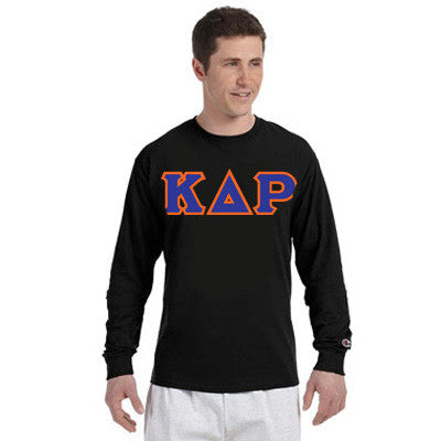 Kappa Delta Rho Champion Long-Sleeve Tee - Champion CC8C - TWILL