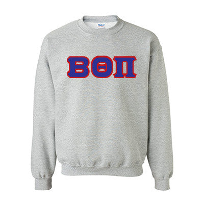 Beta Theta Pi Fraternity Standards Crewneck Sweatshirt - Gildan 18000 - Twill