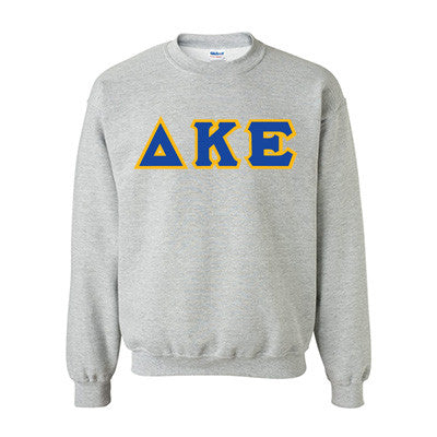 Delta Kappa Epsilon Fraternity Standards Crewneck Sweatshirt - Gildan 18000 - Twill