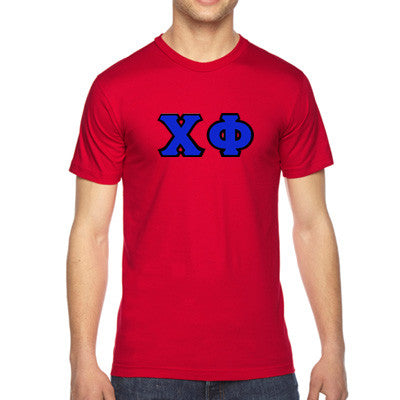 Chi Phi American Apparel Jersey Tee with Twill - American Apparel 2001 - TWILL