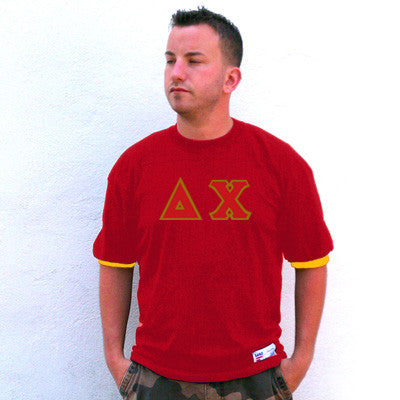 Delta Chi Fraternity Jersey - Eagle T1239 - TWILL
