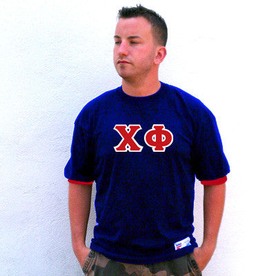 Chi Phi Fraternity Jersey - Eagle T1239 - TWILL