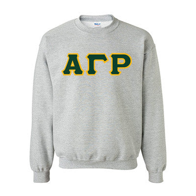 Alpha Gamma Rho Fraternity Standards Crewneck Sweatshirt - Gildan 18000 - Twill