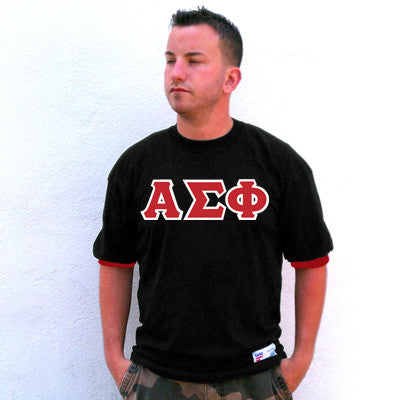 Alpha Sigma Phi Fraternity Jersey - Eagle T1239 - TWILL