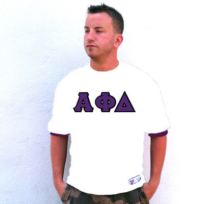 Alpha Phi Delta Fraternity Jersey - Eagle T1239 - TWILL