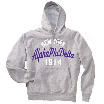 Fraternity State and Date Printed Hoody - Gildan 18500 - CAD