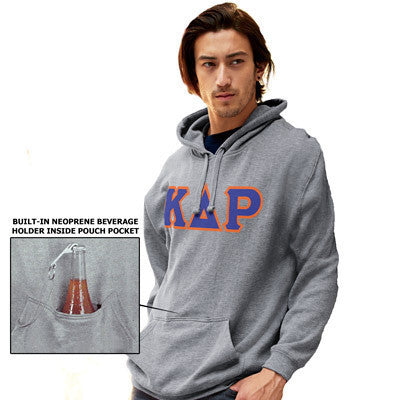 Greek Tailgate Hooded Sweatshirt - J. America 8815 - TWILL