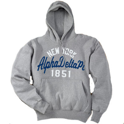 Sorority State and Date Printed Hoody - Gildan 18500 - CAD