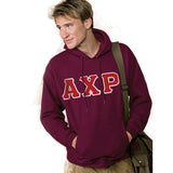 Greek Hanes 10oz. Hooded Sweatshirt - Hanes F170 - TWILL