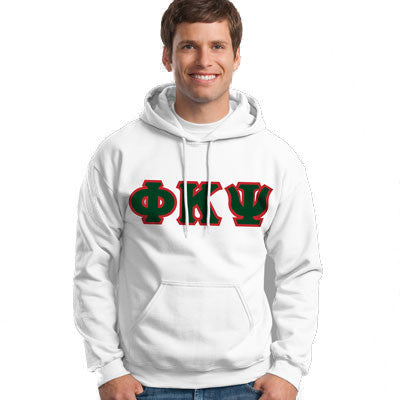 Phi Kappa Psi Hooded Sweatshirt - Gildan 18500 - TWILL