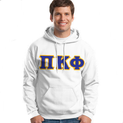 Pi Kappa Phi Hooded Sweatshirt - Gildan 18500 - TWILL
